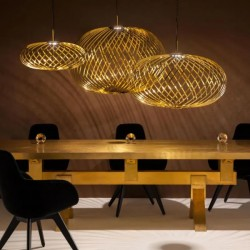 Tom Dixon Spring Pendant Lamp Brass
