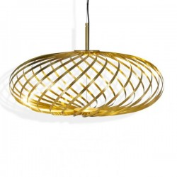 Tom Dixon Spring Pendant Lamp Brass Small