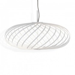 Tom Dixon Spring Pendant Lamp White Small