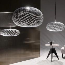 Tom Dixon Spring Pendant Lamp White
