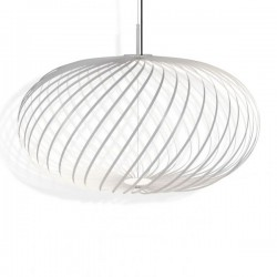 Tom Dixon Spring Pendant Lamp White Medium
