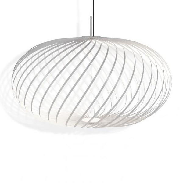 Tom Dixon Spring Pendant Lamp White Medium