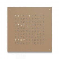 Biegert & Funk QLOCKTWO Classic Hazelnut Mat