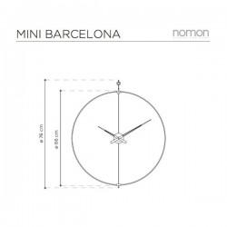 Nomon Mini Barcelona Clock
