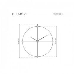 Nomon Delmori Clock