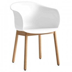 &Tradition Elefy Chair Wooden Legs
