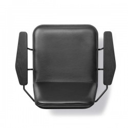 Fredericia Spine Wood Base Armchair