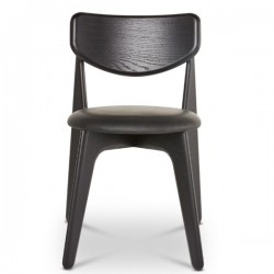 Tom Dixon Slab Chair Black Upholstered
