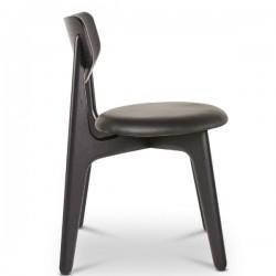Tom Dixon Slab Chair Black Upholstered