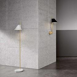 Louis Poulsen Yuh Floor Lamp Brass Marble