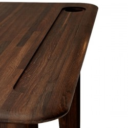 Tom Dixon Individual Desk Small Fumed Oak