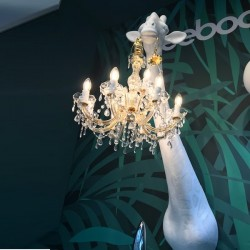 Qeeboo Giraffe in Love Wall Lamp