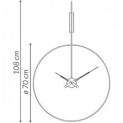 Nomon Daro Clock