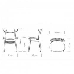 Carl Hansen & Søn CH30P Chair