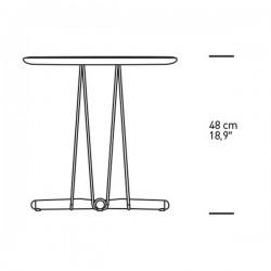 Carl Hansen & Søn Embrace Lounge Table 48cm