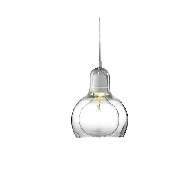 &Tradition Mega Bulb Pendant SR2 Clear cord