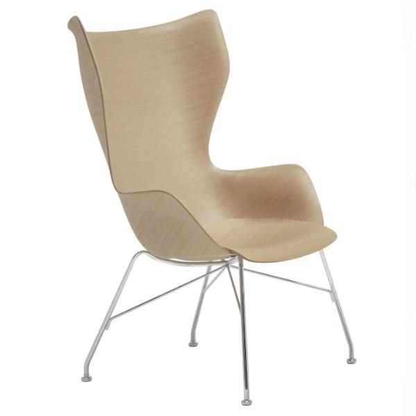 Kartell K Wood Lounge Chair