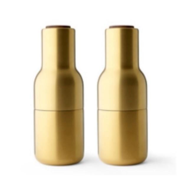 Menu Bottle Grinders Brushed Brass