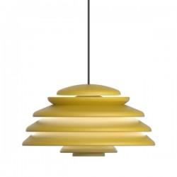 Verpan Hive Yellow Pendant Light