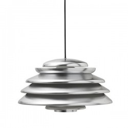 Verpan Hive Polished Aluminium Pendant Light
