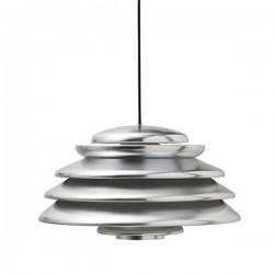 Verpan Hive Polished Aluminium Pendant Light