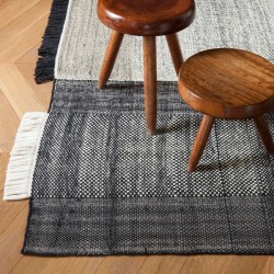 Nanimarquina Tres Black Carpet