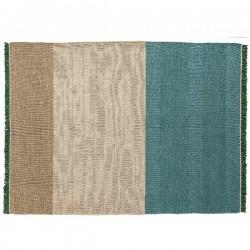 Nanimarquina Tres Stripes Green Carpet