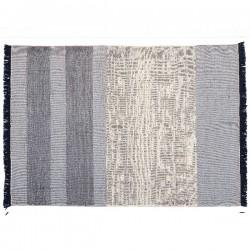 Nanimarquina Tres Stripe Blue Carpet