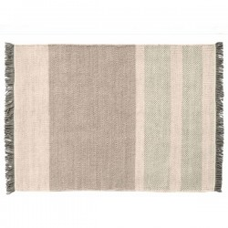 Nanimarquina Tres Stripe Pearl Carpet