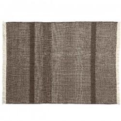 Nanimarquina Tres Texture Chocolate Carpet