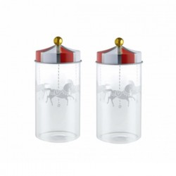Alessi Circus Set of Spice Jars