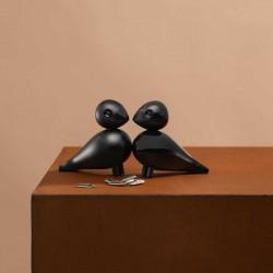 Kay Bojesen Lovebirds Black