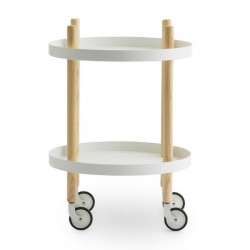Normann Copenhagen Block Trolley Round