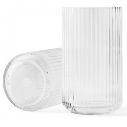 Lyngby Vase Glass Clear