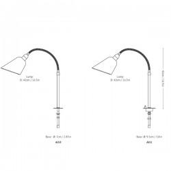 &Tradition Bellevue Table Lamp AJ10/AJ11