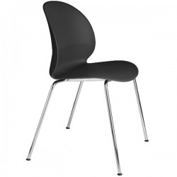 Fritz Hansen N02 Recycle Chair Black
