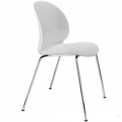Fritz Hansen N02 Recycle Chair White