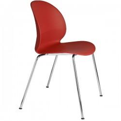 Fritz Hansen N02 Recycle Chair Dark red
