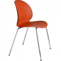 Fritz Hansen N02 Recycle Chair Dark orange