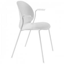 Fritz Hansen  N02 Recycle Armchair white