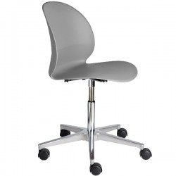 Fritz Hansen N02 Recycle Swivel Chair grey