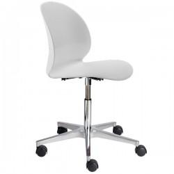 Fritz Hansen N02 Recycle Swivel Chair white