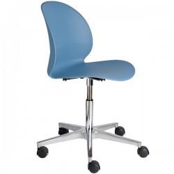 Fritz Hansen N02 Recycle Swivel Chair blue