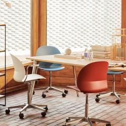 Fritz Hansen N02 Recycle Swivel Chair