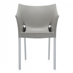Kartell Dr No Chair Warm Grey