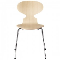 Fritz Hansen Ant Chair Clear Lacquer 3101