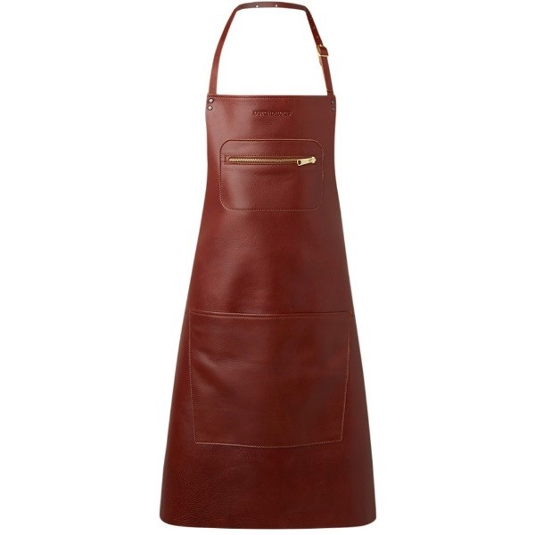 DutchDeluxes Zipper Style Aprons Classic leather