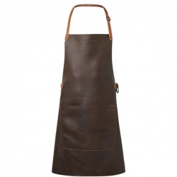 DutchDeluxes BBQ Style Apron Vintage Leather