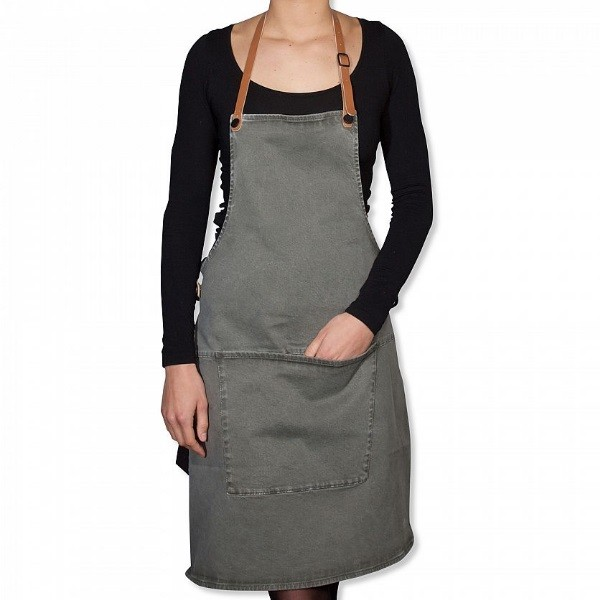 DutchDeluxes BBQ Style Apron Canvas