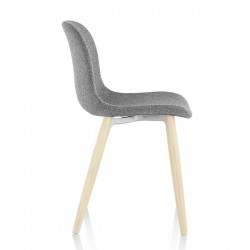 Magis Troy Chair Wood Fully Upholstered